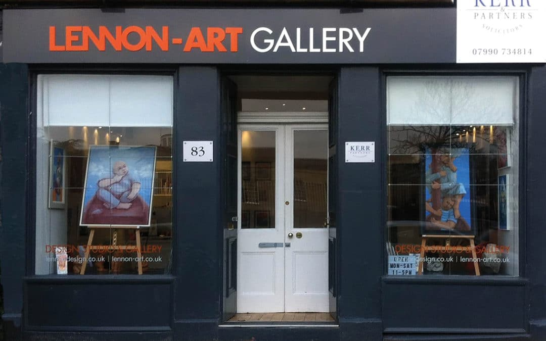 GALLERY OPENS FOR BUSINESS