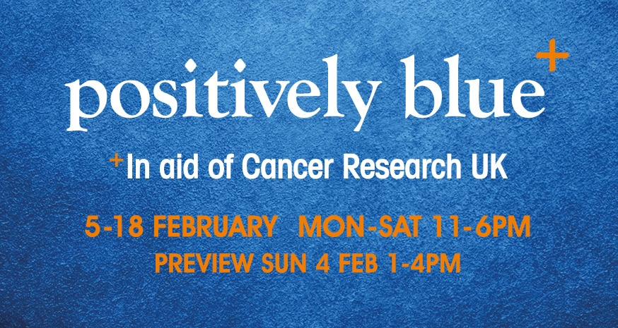 Positively Blue Exhibition